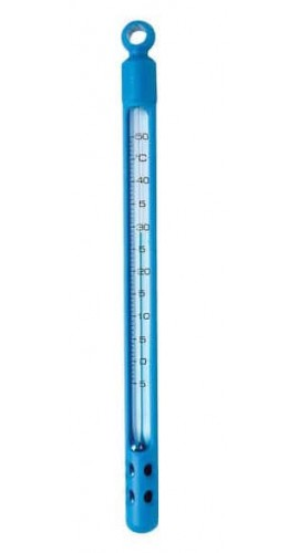 Digi-Sense 90300-30 Pocket Liquid-in-Glass Thermometer with Window Plastic Case, 0 to 220°F-