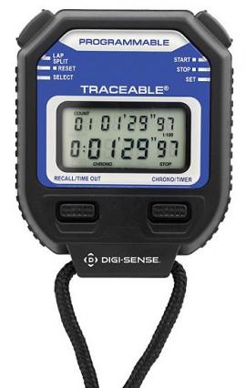 Digi-Sense 94460-10 Traceable Digital Stopwatch/Repeat Timer