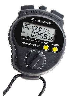Digi-Sense 94460-15 Traceable Countdown Digital Stopwatch