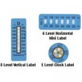 Dwyer KS-0102 Vertical Temperature Label (160 to 230°F/71 to 110°C) with 8 levels-