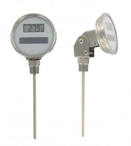 Dwyer DBT Series Digital Solar-Powered Bimetal Thermometers-