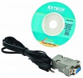 Extech 407752 Windows Software & RS-232 Cable-