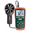 Extech AN100-NIST CFM/CMM Thermo-Anemometer,  -