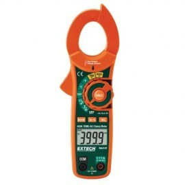 Extech MA435T True RMS Clamp Meter, 400A AC/DC -