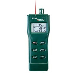 Extech RH401 Digital Psychrometer and IR Thermometer