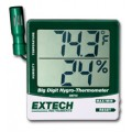 Extech 445715 Big Digit Remote Probe Hygro-Thermometer,  -