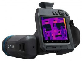 FLIR T840 High-Performance Thermal Imaging Camera with 24° Lens-
