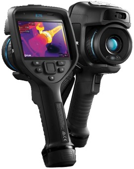 FLIR E75 Thermal Imaging Camera with WiFi, 320 x 240 -