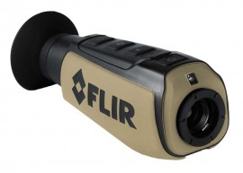 FLIR Scout III 240 Monocular Night Vision Thermal Camera, 24° x 18°-