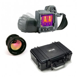 FLIR T420BX-KIT-15 Thermal Imaging Camera Kit with Standard and 15° Lenses & Case-