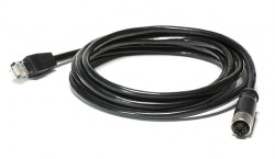FLIR T128390 Ethernet Cable, M12 to RJ45