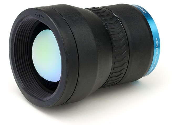 FLIR T199077 Lens with Case for the T1K Series, 12° (f=83.4mm)