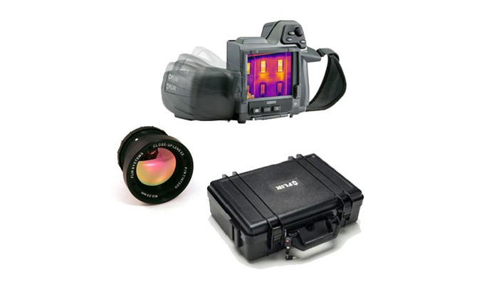 FLIR T420BX-KIT-15 Thermal Imaging Camera Kit with Standard and 15° Lenses & Case