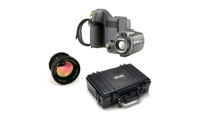 FLIR T440BX-KIT-15 Thermal Imaging Camera Kit with Standard and 15° Lenses & Case