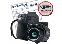 FLIR T600BX Thermal Imaging Camera with 45° Lens, 172800 (480 x 360), 30Hz with NIST Traceable Certificate