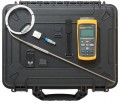 Fluke 1523-P4 Reference Thermometer Kit with carrying case-