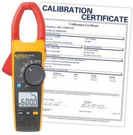 Fluke 375 FC True-rms AC/DC Clamp Meter with Calibration Certificate