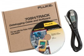 Fluke 709H/TRACK Data Logging Software & Cable-