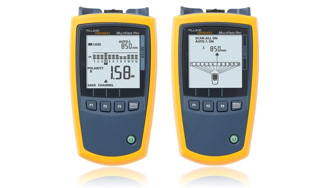 Fluke Network Tester : Fluke networks multifiber pro optical power meter
