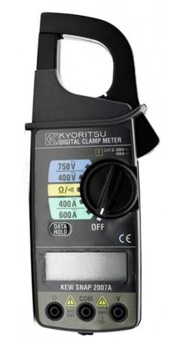 Kyoritsu 2007A Digital Clamp Meter, 600A/750V