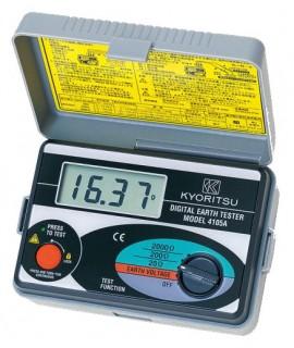 Kyoritsu 4105a Soft Case Ground Resistance Tester Digital