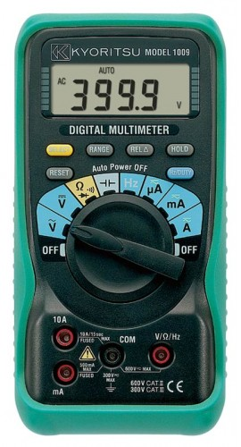 kyoritsu 1009 auto range digital multimeter