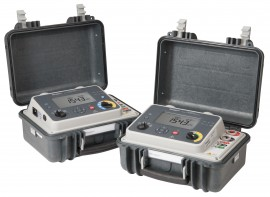 Ohmmeter Good Measurements And A High Low : Megger dlro high current digital low resistance ohmmeter micro