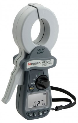 Megger DET24C Clamp-On Ground Tester-