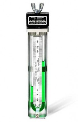 Meriam 10AA25WM-20-CI U-Type Manometer, 20