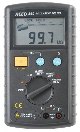 REED C-360 Digital Insulation Tester-
