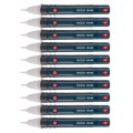 REED R5100-10PK Non-Contact AC Voltage Detector with Flashlight, 10-Pack-