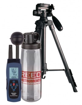 REED R6200-KIT Heat Stress WBGT Meter Kit-