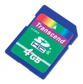 REED SD-4GB SD Memory Card, 4GB-