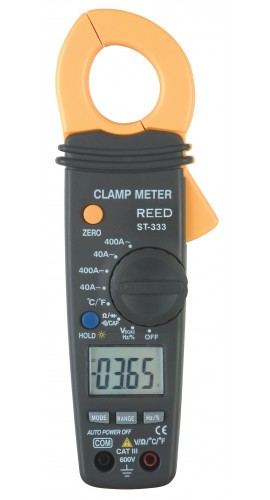 Reed ST-333 AC/DC Clamp Meter with Temperature-