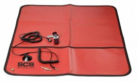 SCS 8501 Control Field Service Kit, Portable, with Adjustable Wrist Strap-