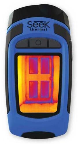 Seek Thermal Camera >> Seek Reveal Wide View Advanced Handheld Thermal Imaging Camera 9 Hz