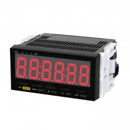 SHIMPO DT-501XD-CPT Panel Meter Tachometer, 9-35 VDC Power, Relay Output