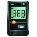 Testo 174H 2-Channel Temperature/Humidity Data Logger with wall holder-