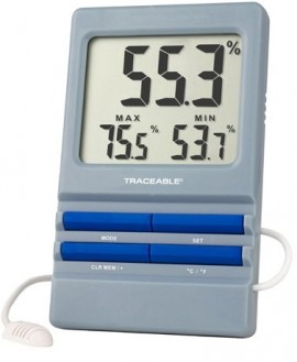 Traceable 4154 RH/Temperature Monitoring Hygrometer, 32 to 140°F-