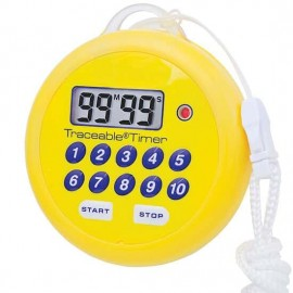 Traceable 94461-55 Digital Water-Resistant Flashing Timer with calibration-