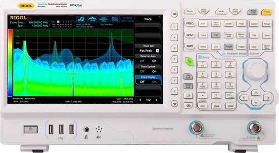 RSA3000 Advanced Analysis Bundle - Get free 25MHz Real Time Analysis and 1Hz RBW upgrade